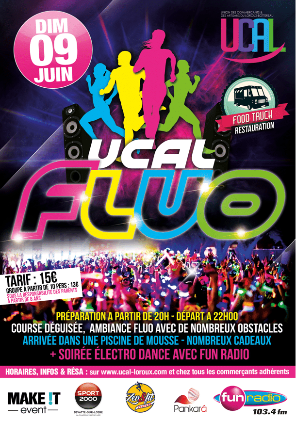 Affiche UCAL Fluo 2019